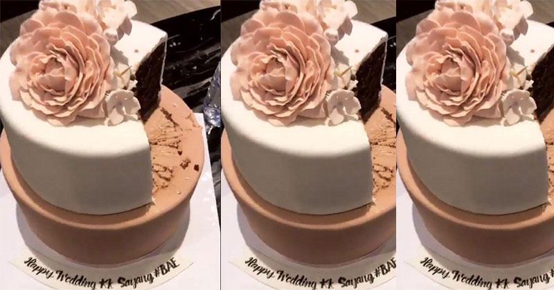 https: img.okezone.com content 2017 10 09 196 1791554 cantik-cake-pengantin-bella-emran-melambangkan-keromantisan-sampai-akhir-hayat-du6M9j6ABf.jpg