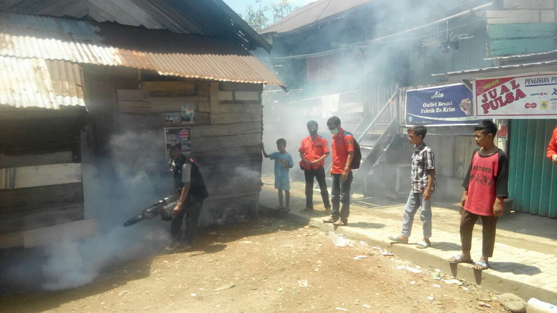 Antisipasi Demam Berdarah, Rescue Perindo Sumsel Asapi 200 ...