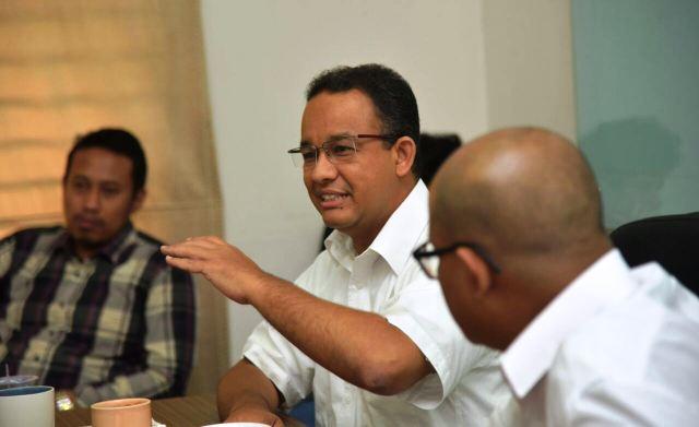 Hasil gambar untuk anies gubernur jakarta