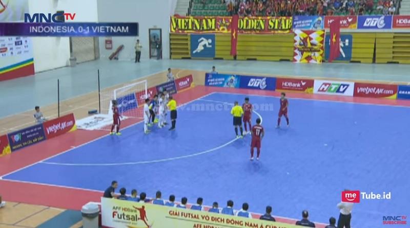 AFF Futsal Championship 2017 Lewat Bola Mati Abdul Rohman Nawawi