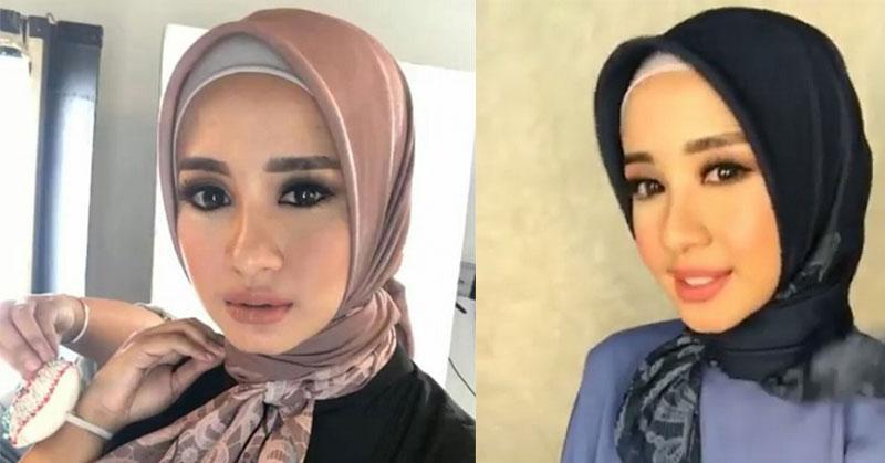 Trik Cantik Padukan Hijab Segi Empat untuk Tampilan ...