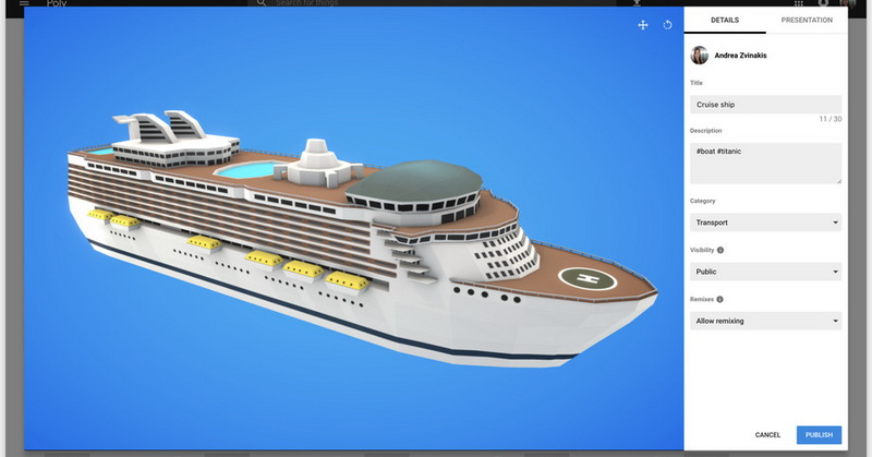 Keren! Google Poly Mudahkan Pengguna Temukan Objek VR dan AR ... 78db85acff