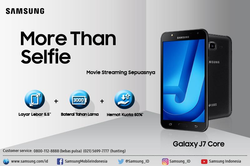Menikmati Kecanggihan Samsung Galaxy J7 Core Smartphone Serba Bisa