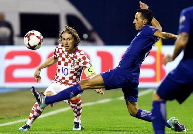 Kroasia Vs Yunani