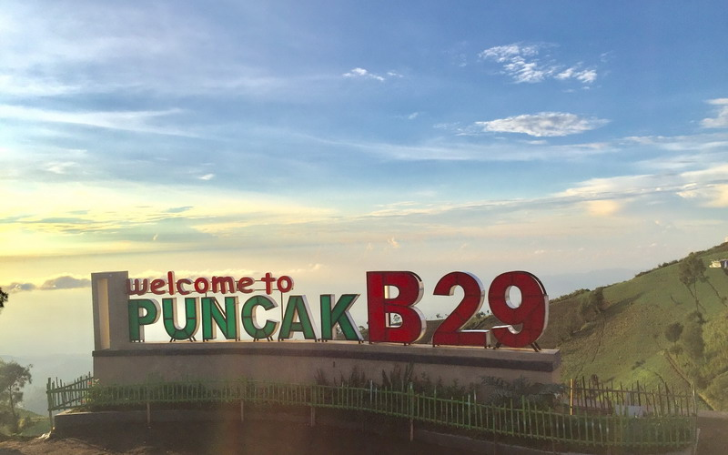 Kunjungi Malang Jangan Lupa Menengok Puncak B29 Negeri Di Atas Awan Okezone Travel