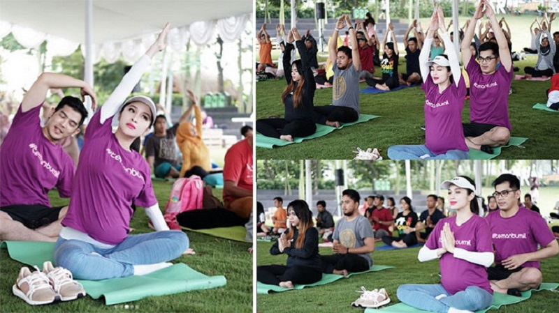 https: img.okezone.com content 2017 11 13 481 1813135 sandra-dewi-giat-prenatal-yoga-untuk-bekal-persalinan-cek-manfaatnya-EiKH6z5AIv.jpg