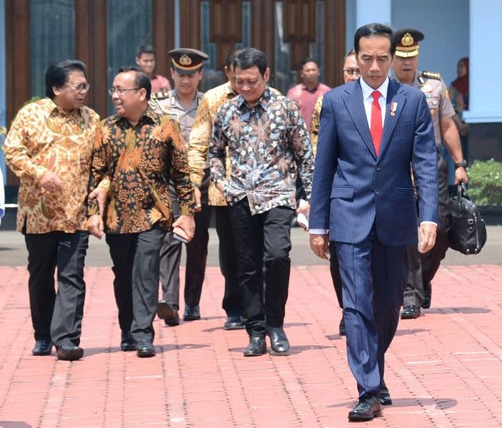 Usai Hadiri Sarasehan DPD, Jokowi Hadiri Munas KAHMI Di