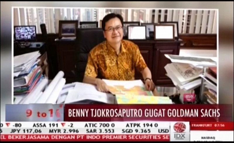 MYRX Kalah dari Benny Tjokrosaputro, Goldman Sachs International Berencana Banding : Okezone Economy