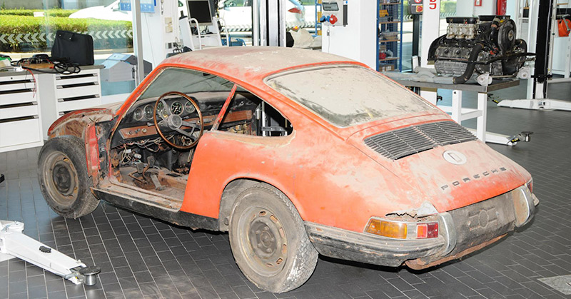 Cerita Angka 0 Dan 1 Ketika Mobil Porsche Tertua Ditemukan Dalam Keadaan Rongsok Okezone News