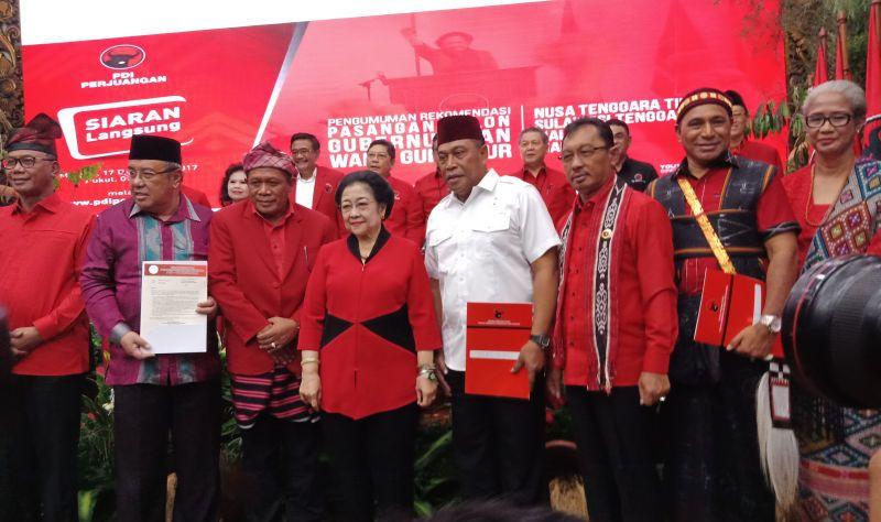 Alasan Megawati Usung Petahana di Pilgub Riau