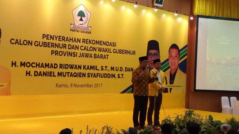 Beredar Surat Golkar Cabut Dukungan ke Ridwan Kamil-Daniel Muttaqien di Pilgub Jabar