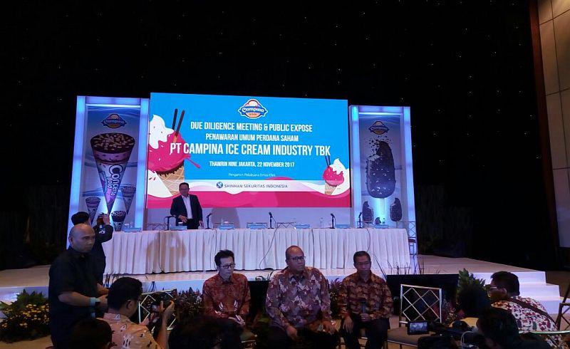 CAMP 45 Tahun Berdiri, Campina Resmi Melantai di Pasar Modal : Okezone Economy