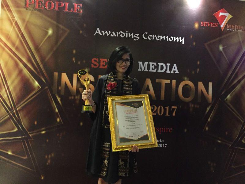 BMTR GGOD Director Global Mediacom Dinobatkan sebagai Best Inspiration Women of The Year 2017 : Okezone Economy