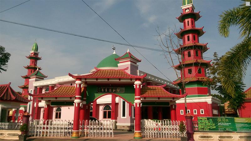 Image result for masjid cheng ho palembang