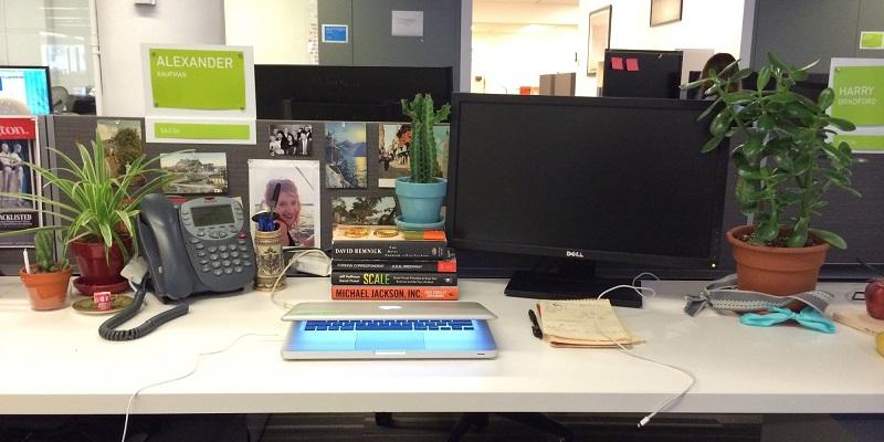 Hasil gambar untuk dekorasi meja kantor