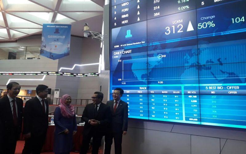 LCKM IPO Perdana 2018, Saham LCK Global Kedaton Naik 50% : Okezone Economy