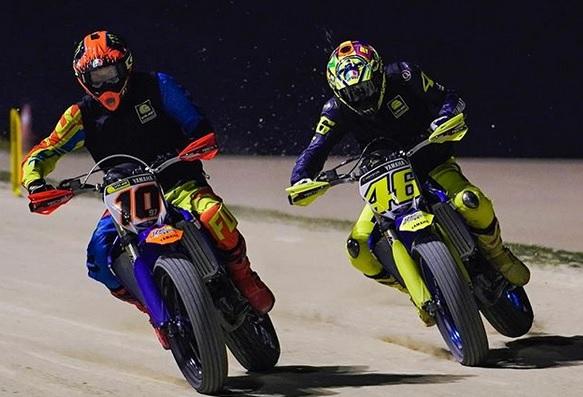 Valentino Rossi Jalani Latihan Motocross Jelang Motogp 2018