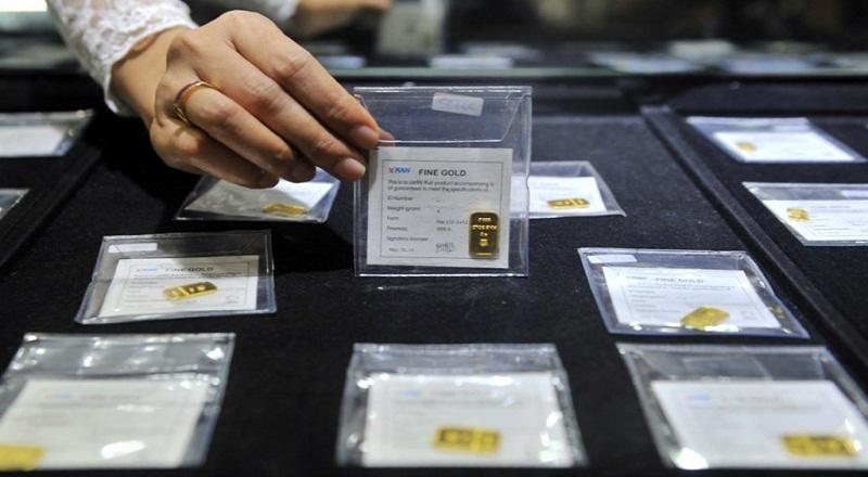 ANTM Harga Emas Antam Turun Rp1.000 Gram : Okezone Economy