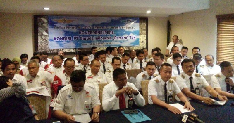 GIAA Pilot dan Pekerja Garuda Indonesia Kritik Jumlah Direktur yang Terlalu Banyak : Okezone Economy