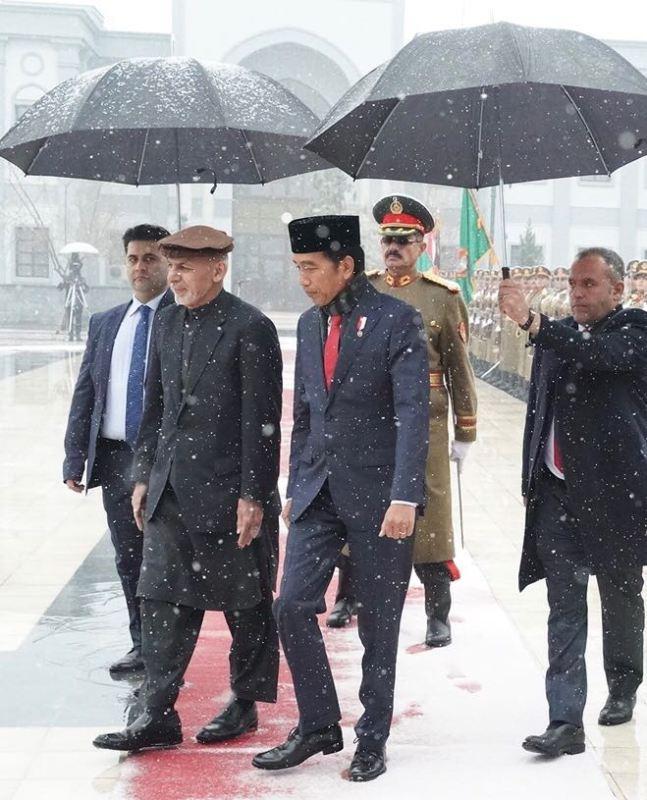 Kunjungan Jokowi Ke Afghanistan Bentuk Komitmen Indonesia
