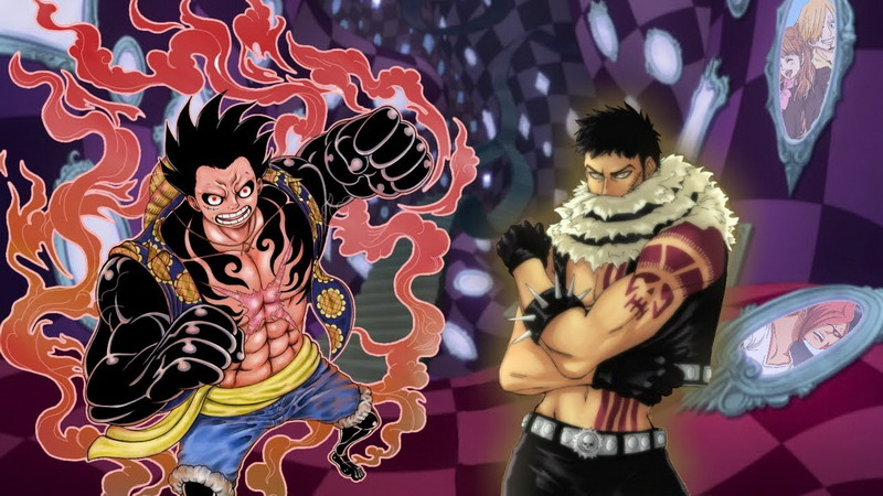 Lawan Katakuri Monkey D Luffy Ubah Bentuk Baru Di One Piece