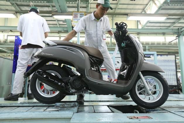 Dibanderol Rp17 8 Juta Apa Saja Yang Baru Dari Honda Scoopy 2018 Okezone Otomotif
