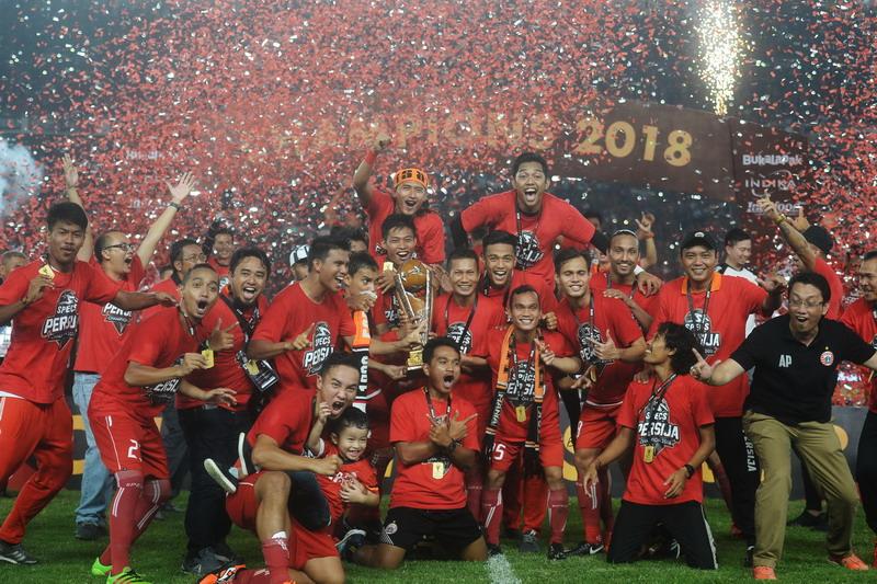 Persija Tatap Liga  Dan Afc Cup Usai Juara Piala Presiden