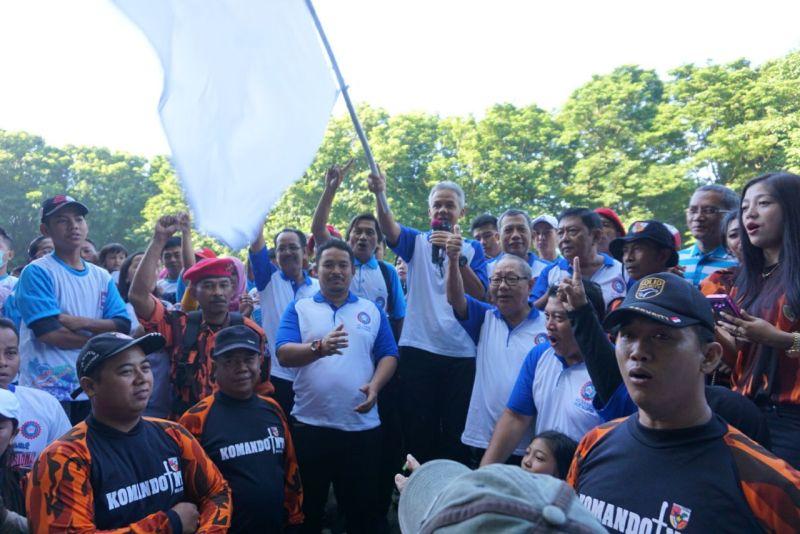 Dinilai Cakap Pimpin Jateng, Buruh Satu Komando Dukung Ganjar-Yasin
