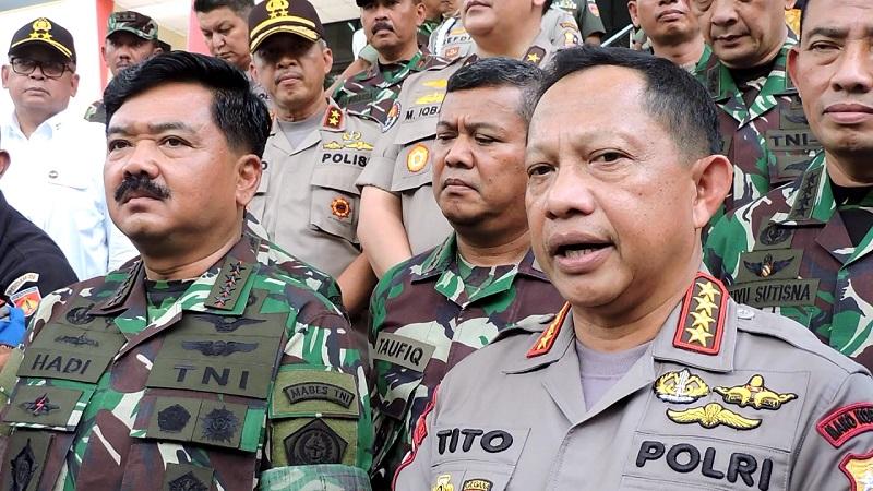 Panglima TNI-Kapolri Jamin Suhu Politik di Pilkada 2018 Tak Ganggu Pelaku Bisnis