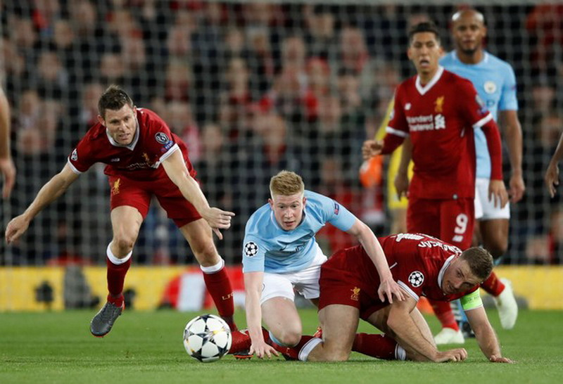 Henderson praises liverpools performance at mute man city 3 0 liverpool match stage i round of quarter finals of the champions league between manchester city manchester united has finished early this morning reheart Image collections