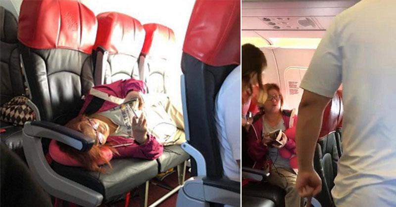 https: img.okezone.com content 2018 04 05 406 1882432 serasa-rumah-sendiri-perempuan-ini-tidur-di-3-kursi-premium-pesawat-sambil-main-handphone-drehFd5uTu.jpg