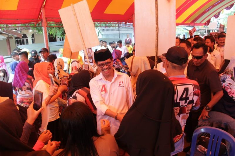 Calon Gubernur Ichsan Banyak Belajar dari Tukang Becak