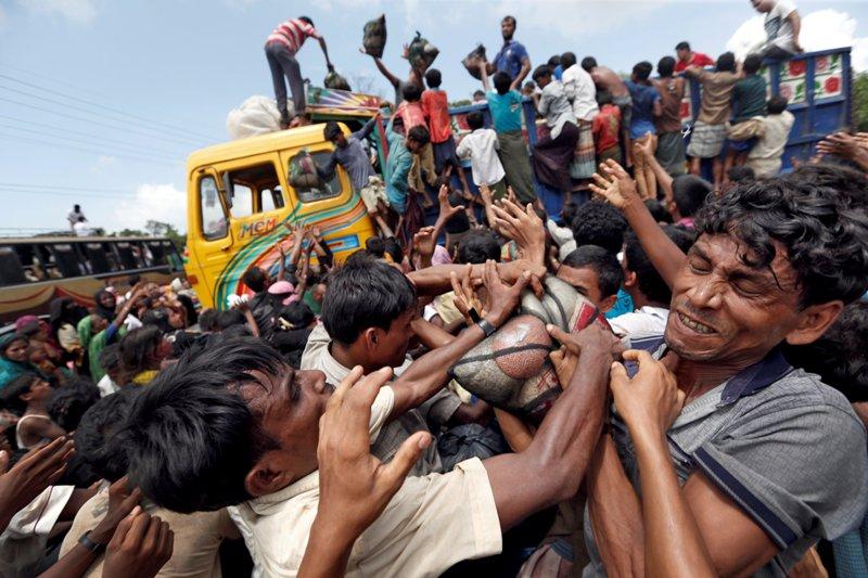 Image result for pengungsi rohingya
