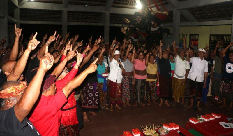 Jika Terpilih Jadi Gubernur Bali, Koster Janji Perbaiki Infrastruktur di Klungkung