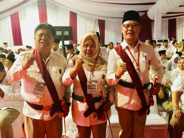 Konsisten Besarkan Gerindra, Aswari Terima Penghargaan Bintang Garudayaksa Kesatria Utama