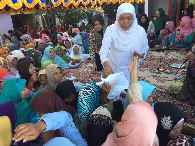 Ulama Madura Sampaikan Dukungan Langsung ke Khofifah