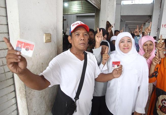 Dinilai Sukses dengan PKH, Kader PDIP Surabaya Ini Dukung Khofifah