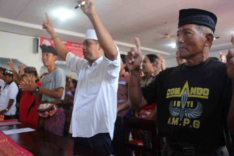 Ratusan Warga Jembrana Siap Menangkan Koster-Ace  di Pilgub Bali