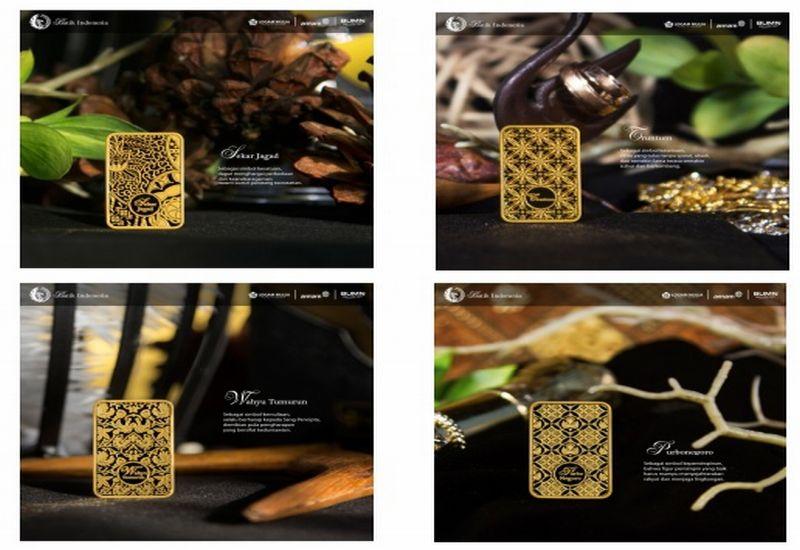 Antam Luncurkan Emas Batangan Batik Dalam 4 Motif Okezone Economy