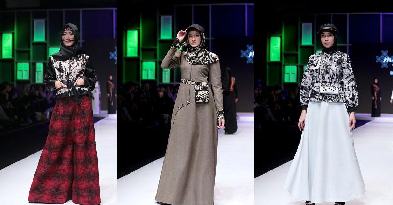 Sentuhan Batik Pekalongan, Abstrak dan Kawung dalam Balutan Busana Muslim di Muffest 2018
