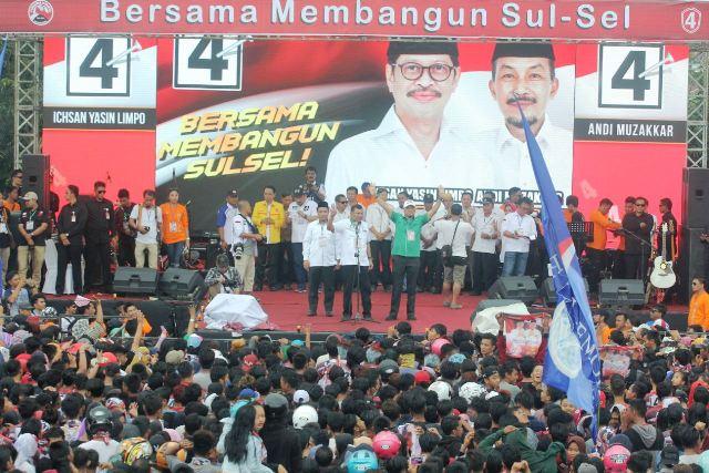 Koalisi Rakyat Nyatakan Sikap Dukung Calon Gubernur Ichsan