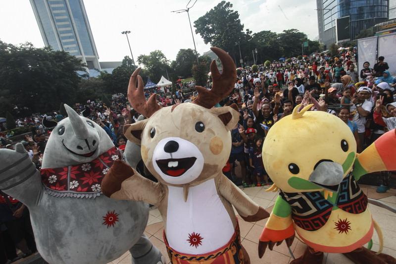 2 018 orang bakal ikuti parade asian games 2018 di palembang URmO1HrvzM - Asian Games 2018 Parade