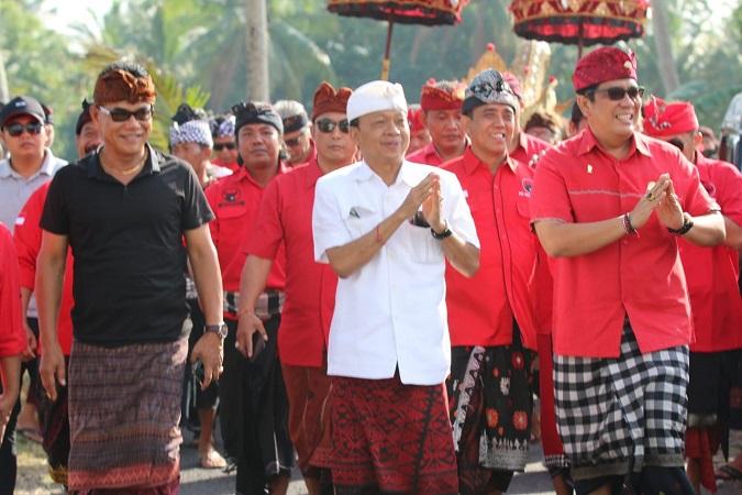 Pilgub Bali 2018, Koster Target Peroleh 75% Suara di Tabanan