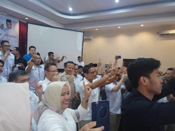 Sandiaga Yakin OK OCE Kito Bawa Kemenangan bagi Aswari-Irwansyah