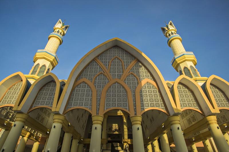 Islamic Center Ikon Wisata Halal Di Pulau Seribu Masjid Okezone Travel