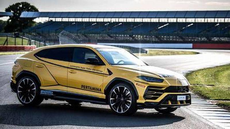 Ada Logo Pertamina Di Mobil Balap Lamborghini Urus Okezone News