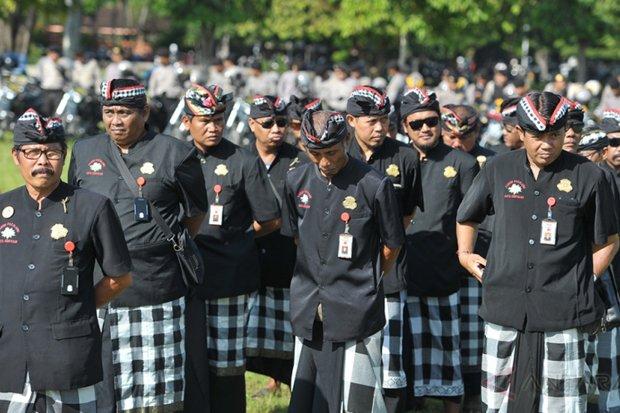 Amankan Pilkada 2018, Polda Bali Gandeng Pecalang