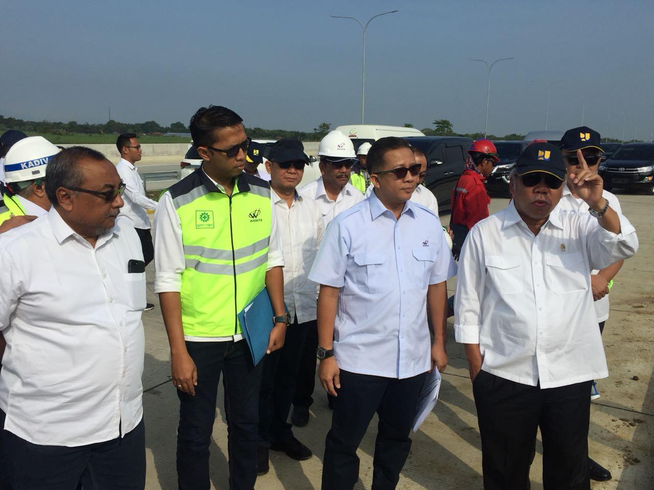 Tinjau Tol Pejagan-Pemalang, Menteri Basuki: Dari Brebes ke Pemalang Sudah Siap