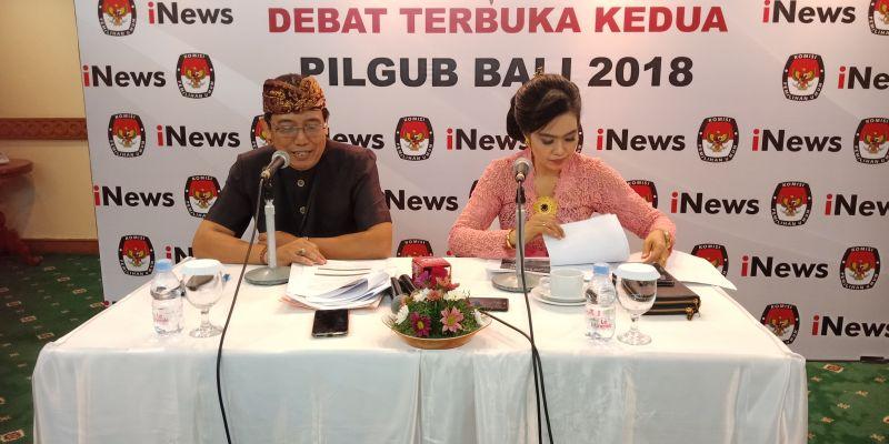 KPUD Bali Gelar Debat Pilgub Putaran Kedua
