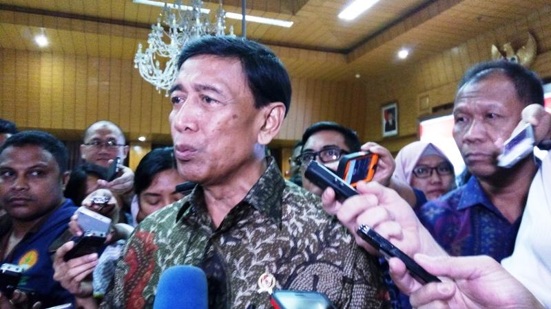 Wiranto, Kapolri, Panglima TNI, KPU Rapat Bahas Kesiapan Akhir Pilkada Serentak 2018